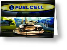 Fuel Cell Tech Greeting Card