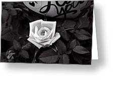 Full Blown Love Greeting Card