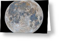 Full Moon / Day 15 Greeting Card