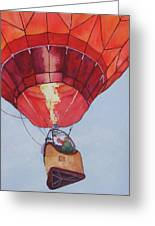 Full Of Hot Air Greeting Card