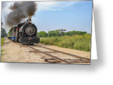 Full Steam To Nowhere Greeting Card
