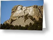Full View Rushmore Greeting Card
