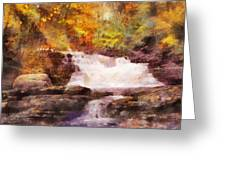 Fuller Falls Greeting Card
