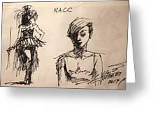 Fun At Art Of Fashion At Nacc 1 Greeting Card