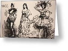 Fun At Art Of Fashion At Nacc 3 Greeting Card