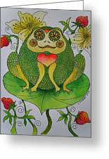 Fun Frog II Greeting Card