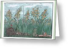 Fun In The Weeds Greeting Card