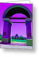 Fun Times At Infinity Park Greeting Card
