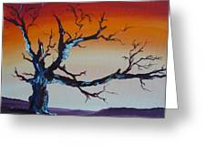 Fungus Tree Greeting Card