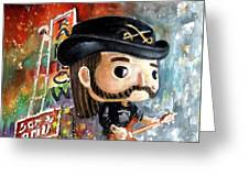 Funko Lemmy Kilminster Out To Lunch Greeting Card