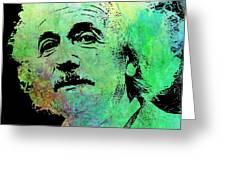 Funky Einstein  Greeting Card