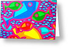 Funky Fish Greeting Card