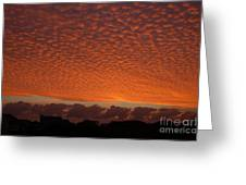 Funky Sky Greeting Card