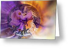Funnel Of Time Greeting Card