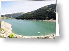 Funsingau Dam Near Gerlos Greeting Card