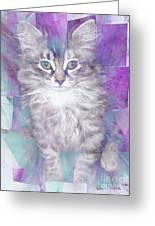 Fur Ball Greeting Card