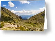 Furkotska Dolina Greeting Card