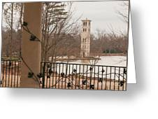 Furman Bell Tower 1 Greeting Card