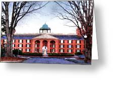 Furman University Judson Hall  Greeting Card