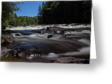 Furnace Falls - Minden Hills Greeting Card