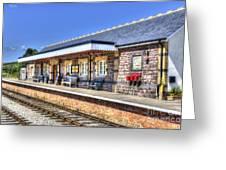 Furnace Sidings Railway Station 2 Greeting Card