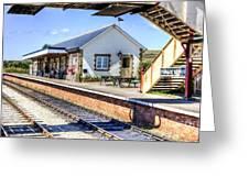Furnace Sidings Railway Station Greeting Card