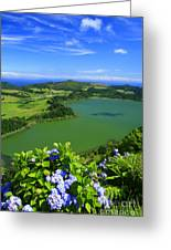 Furnas Lake Greeting Card