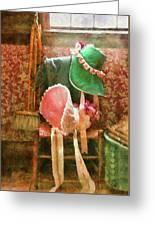 Furniture - Chair - Bonnets  Greeting Card