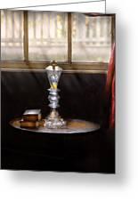 Furniture - Lamp -  The Oil Lamp Greeting Card