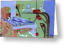 Furniture Gets Alive Greeting Card