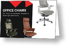 Furniture Supplier Of Online Office Chairs Abu Dhabi Greeting Card