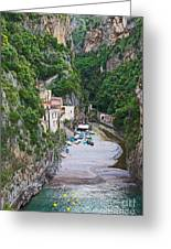 Furore Italy Greeting Card