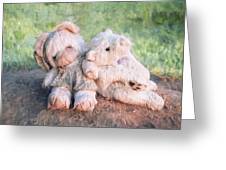 Furry Friends Greeting Card