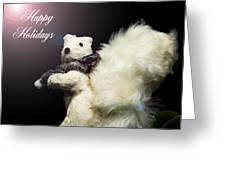 Furry Holiday Greeting Card