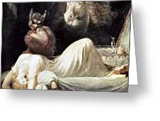 Fuseli: Nightmare, 1781 Greeting Card