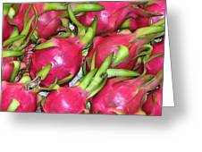 Fushia Fruit Greeting Card