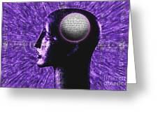 Futuristic Communications Greeting Card