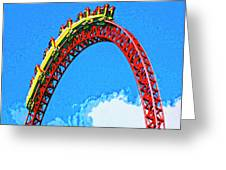 G Force Greeting Card