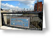 Gabriel's Wharf Greeting Card