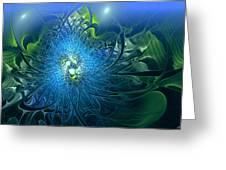 Gaia's Emergence Greeting Card