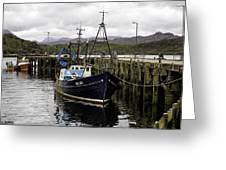 Gairloch Harbor Greeting Card