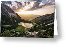 Gaisalpsee Greeting Card