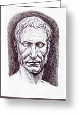 Gaius Julius Caesar Greeting Card
