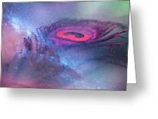 Galactic Eye Greeting Card