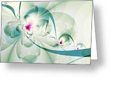 Galactic Flower Greeting Card