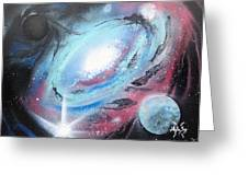 Galaxy 2.0 Greeting Card