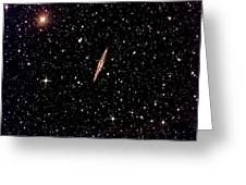 Galaxy In Space Greeting Card