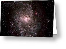 Galaxy In Traiangulum Greeting Card