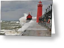 Gale Warnings Greeting Card