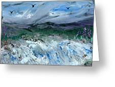 Gale Winds Greeting Card